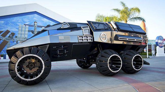 NASA kali ini memperkenalkan kendaraan baru untuk eksplorasi permukaan Mars yang memiliki performa lebih baik.