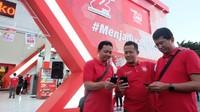 Lebaran: Lalin Telkomsel Naik Tajam Dari Medsos dan Streaming