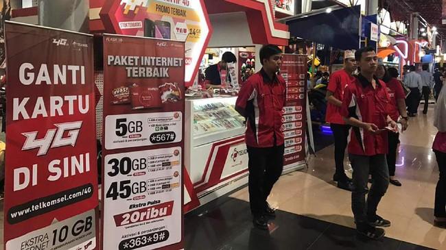 Telkomsel kembali hadir akarta Fair Kemayoran (JFK) 2017 yang diselenggarakan mulai tanggal 8 Juni s/d 16 Juli 2017 di kawasan niaga JI EXPO Kemayoran.
