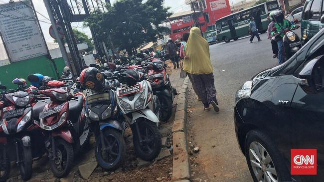 Tarif Parkir Jakarta Naik Januari 2019