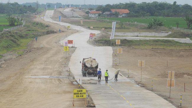 Kebutuhan dana jalan tol sepanjang 37,62 kilometer itu sudah mencapai 22 persen dengan total nilai proyek sebesar Rp5,9 triliun.