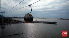 Menikmati Sunset Teluk Jakarta dari Gondola Ancol
