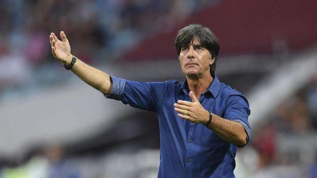 Pelatih timnas Jerman Joachim Loew sulit untuk menjelaskan kekalahan telak 0-6 dari Spanyol dalam laga lanjutan UEFA Nations League.