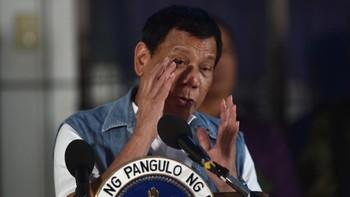 Bela Laut China Selatan, Duterte Tak Takut Jika Dibunuh China