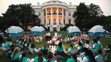 Cerita Bocah 11 Tahun Memotong Rumput Halaman White House