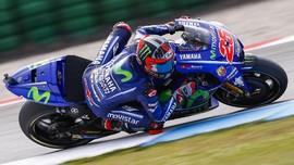 Vinales Juara MotoGP Australia 2018, Marquez Gagal Finis