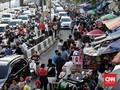 Sandi Akan Relokasi Pedagang Usai Gusur Pasar Gembrong