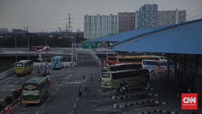 Kementerian Perhubungan mencatat penurunan penumpang pengguna transportasi umum pada H-4 Lebaran 2019, terutama transportasi darat.
