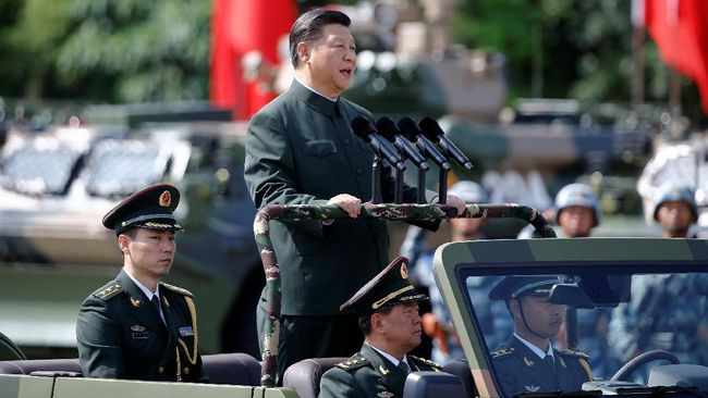 Kemlu China meminta semua pihak tetap tenang dan menahan diri setelah AS menyatakan siap menggunakan cara paksa untuk menghentikan program nuklir Korut.