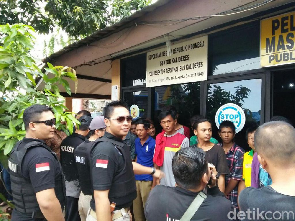 Amankan Arus Balik, Polisi Razia 15 Preman di Terminal Kalideres