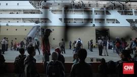 Pelni Catat Lonjakan Penumpang Kapal hingga 435 Persen