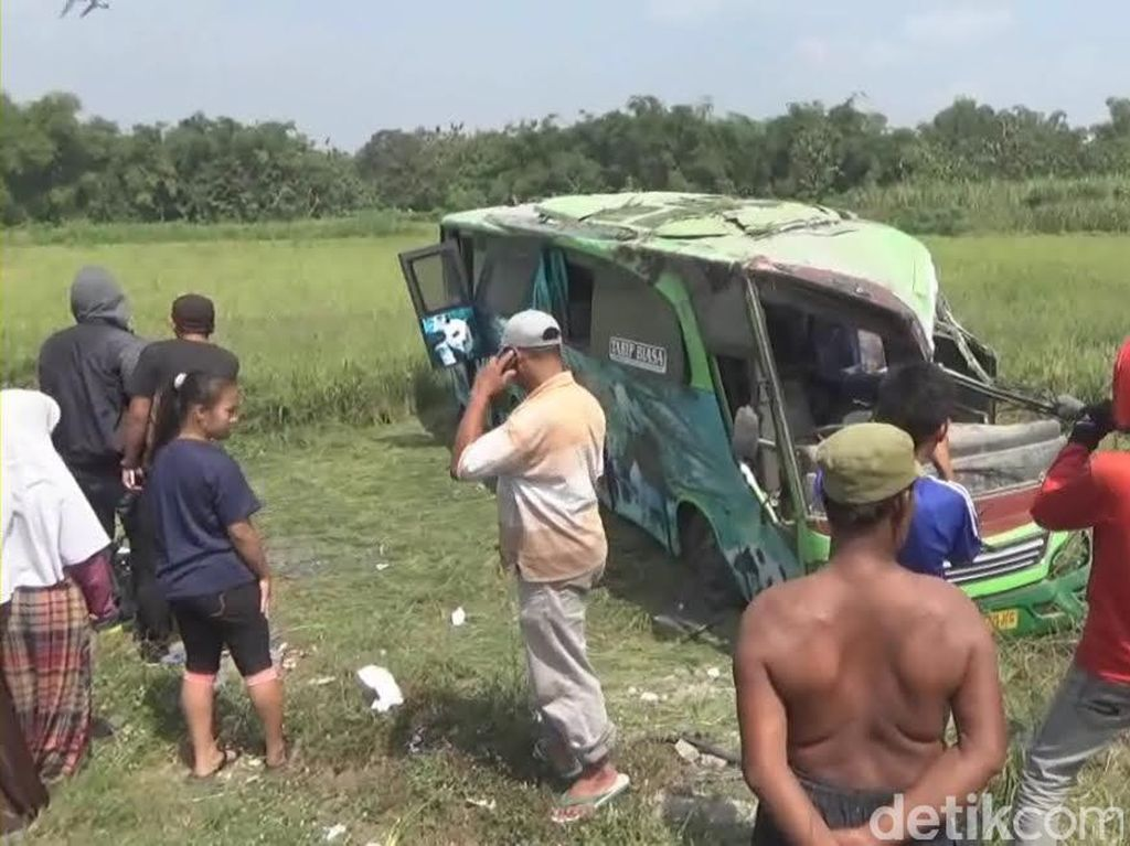 Jasa Raharja Jamin Asuransi Korban Kecelakaan Bus Restu di Jombang