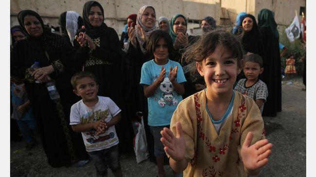 Irak diperkirakan menahan 560 perempuan dan 600 anak-anak yang diduga pengikut ISIS.