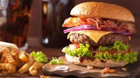 Burger 'Berdarah' Idaman Vegetarian