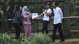 Jokowi-Kaesang Manfaatkan Libur dengan Naik Motor