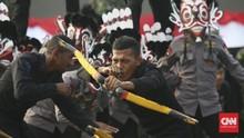 Rombongan Brimob Nusantara Mendarat di Timika Papua