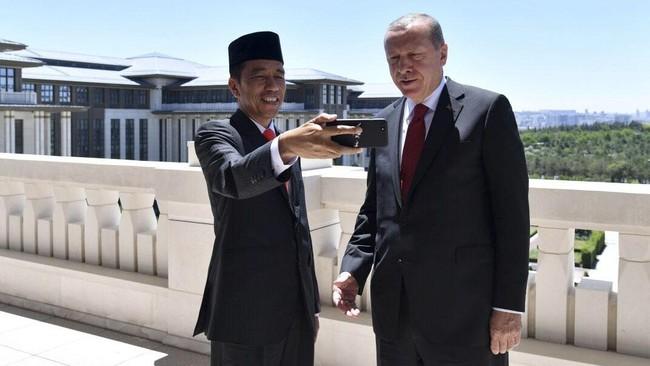 Jokowi Bicara dengan Erdogan: Agresi Israel Harus Dihentikan