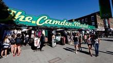 Lockdown Inggris Dilonggarkan, Camden Market Kembali Dibuka