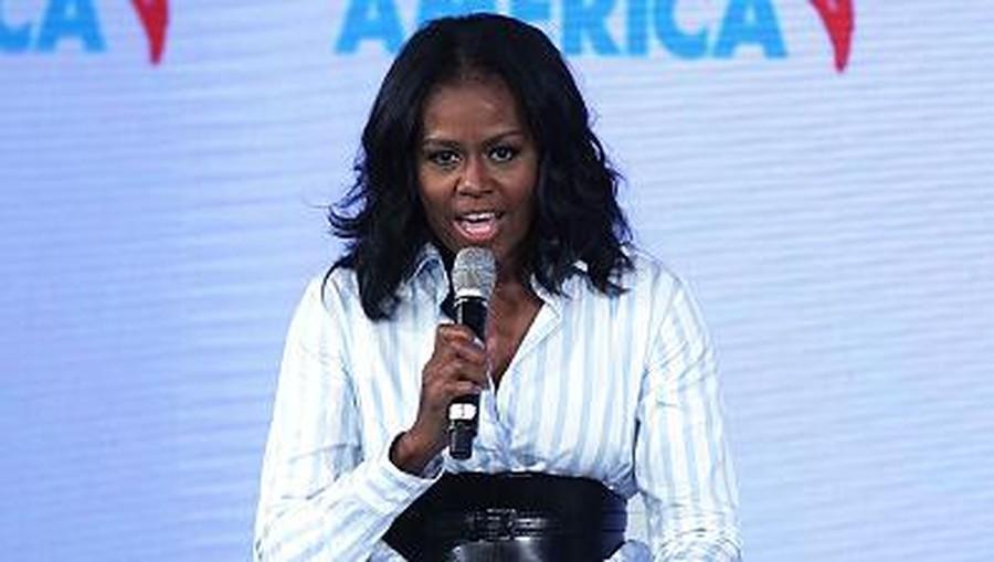 Inspiratif, Michelle Obama Dapat Gelar Wanita Paling Dikagumi di AS