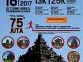Pelari dari 9 Negara Ikuti Sleman Temple Run 2017