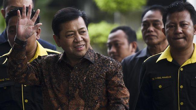 Setya Novanto sebelumnya telah diperiksa oleh Komisi Pemberantasan Korupsi terkait dugaan korupsi e-KTP