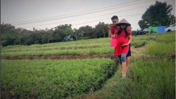 Foto-foto Lucu Dukungan Suami pada Istrinya yang Sedang Hamil