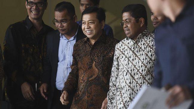 Golkar Kaget Setya Novanto Tersangka Kasus Korupsi e-KTP