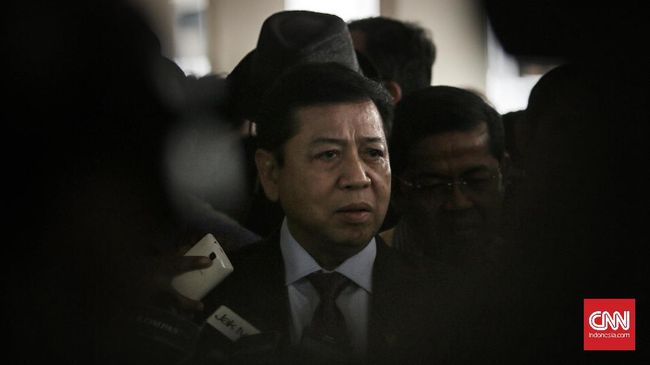 Surat Permohonan Setnov Dianggap 'Obstruction of Justice'