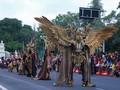 Solo Batik Carnival Gandeng Peserta Jember Fashion Carnaval
