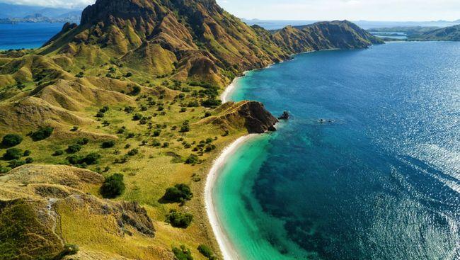 Kementerian Pariwisata meninjau langsung perkembangan pembangunan Kawasan Marina Wisata PT ASDP Indonesia Ferry (Persero) di Labuan Bajo, Nusa Tenggara Timur.