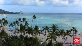 Hawaii Cabut Aturan Pakai Masker di Luar Ruangan