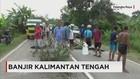 Jalan Trans Kalimantan Ambles Diterjang Banjir Picu Kemacetan