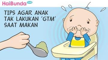 Tips Agar Anak Tak Lakukan Gerakan Tutup Mulut Saat Makan