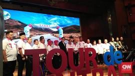 Perdana Sulteng Gelar Tour de Central Celebes