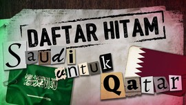 Menilik Daftar Hitam Saudi untuk Qatar