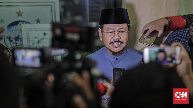 Eks Jubir HTI Ismail Yusanto menyebut HTI tak punya bendera. Ia dinilai berbohong sehingga dilaporkan ke Bareskrim Polri.