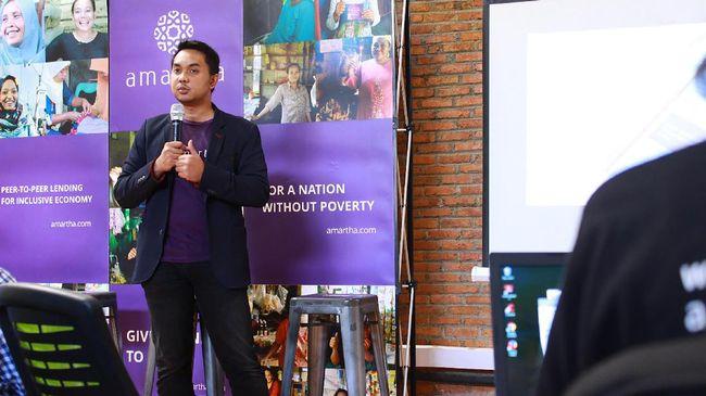 Perusahaan rintisan teknologi finansial Amartha membiayai lebih dari 38 ribu mitra usaha kecil dan mikro ke berbagai pelosok Indonesia.
