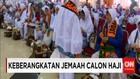 Jemaah Calon Haji Pondok Gede Diberangkatkan ke Bandara