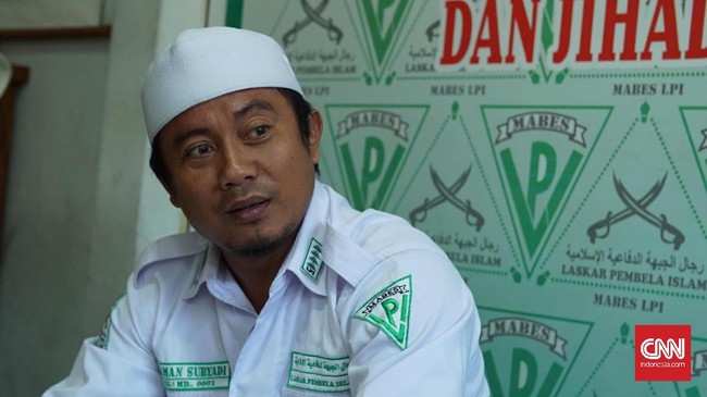 Tokoh FPI Maman Suryadi Diklaim 'Cuma' Ikut Pegang Kerah Kace