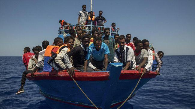 Dua Kapal Imigran Tenggelam Di Libya, 100 Orang Tewas