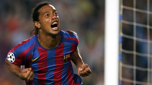 Xavi: Level Messi di Atas Ronaldinho