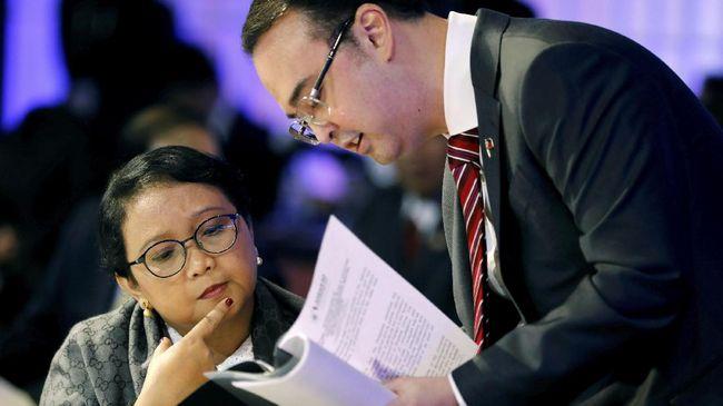 Menlu RI Retno Marsudi dijadwalkan menghadiri Forum Kerja Sama Amerika Latin dan Asia Timur yang diperkirakan turut membahas masalah rudal Korut.