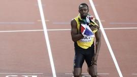 Man Utd vs Leicester: Usain Bolt Kesal Lihat Blunder Fred