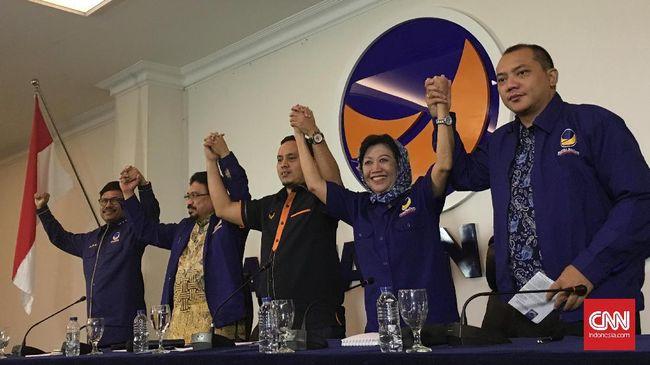 DPP Partai NasDem menegaskan tidak akan meminta maaf kepada Gerindra, PAN, PKS, dan Demokrat atas pernyataan kadernya, Viktor Bungtilu Laiskodat.
