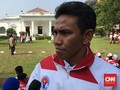Bima Sakti Tetap Asisten Luis Milla di Timnas Indonesia