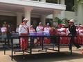 VIDEO: Aksi Jokowi Main Pingpong di Istana Negara