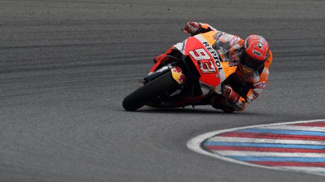 Marquez Waspadai Dovizioso daripada Rossi