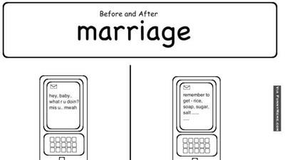 Foto: Mana Meme Sebelum dan Sesudah Nikah yang Paling Pas?