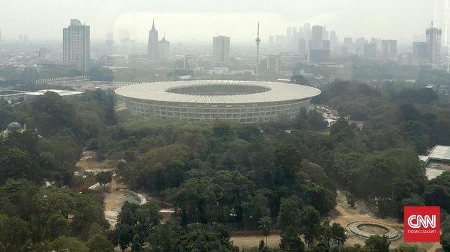 Lalu lintas menuju dua venue Asian Games, GBK dan TMII belum bisa dipastikan kelancarannya sehingga digelar simulasi hari ini.