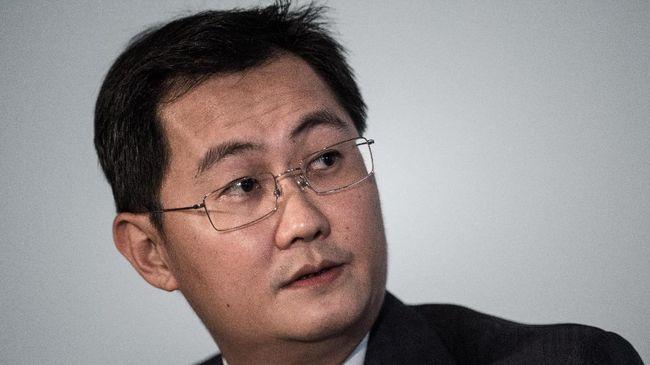Ma Huateng, pemimpin Tencent Holding, mendarat di urutan ke-17 orang terkaya dunia versi Forbes dan nomor satu di China.